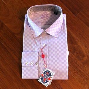 New English Laundry Dress Shirt 17.5  34/35